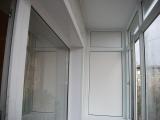 Остекление балкона + обшивка потолка